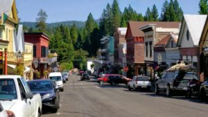 Downtown Nevada City, CA